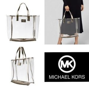 ⚡⚡Authentic Michael Kors Transparent Tote⚡⚡